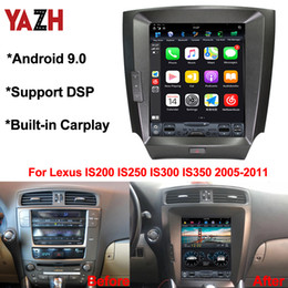 "2021 android dvd navi Android 9.0 автомобильный DVD-плеер для Lexus IS200 IS250 IS300 IS350 2005-2011 Bluetooth 5.0 DSP 10.4 "" IPS GPS Navi Multimedia дешево android dvd navi"
