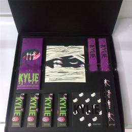 fard à paupières Promotion Halloween maquillage série fard à paupières + brillant à lèvres + rouge à lèvres + pinceau + surligneur..BOO 10pcs Big Box Kit costume cosmétique chaud