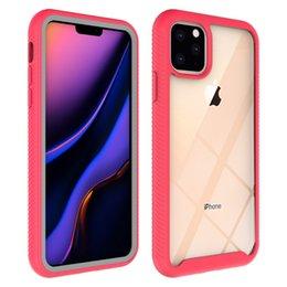 2019 iphone de cuerpo completo transparente Original para iPhone caja transparente x 3 en la cubierta de cuerpo completo de TPU para el iPhone acrílico 1 11 8 Pro Plus XR XS MAX iphone de cuerpo completo transparente baratos