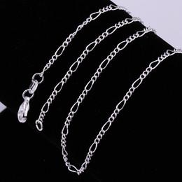 Deutschland 2019 heißer verkauf Feine 925 Sterling Silber Halskette 2 MM 16-30