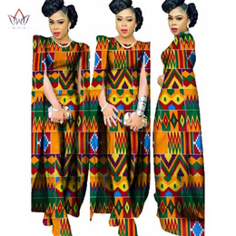 african wax women dresses Coupons - 2019 Autumn Africa Wax Print Rompers Jumpsuit Bazin African Style Clothing for Women Dashiki Cotton Fitness Jumpsuit WY102