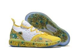 pendant shoes christmas Desconto KD 11 sapatos Tio Patinhas para vendas frete grátis Kevin Durant Natal ao ar livre Loja de sapatas com caixa US7-US12
