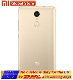 100% nuevo Original xiaomi redmi note 3 pro 4G LTE Touch ID Escáner de huellas dactilares Octa Core MTK6795 3GB 32GB 5.5 pulgadas 1920 * 1080 FHD 13.0MP desde fabricantes