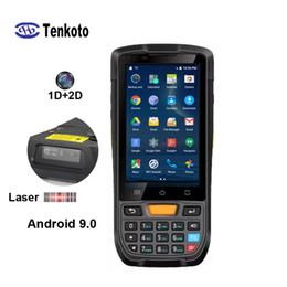 2019 быстрый сканер документов Штрих-код PDA Android 9.0 Сканер 4-дюймовый сенсорный экран Прочный Carrier Inventory Honeywell 1D лазерный сканер штрих-кода 2D сканер штрих-кода