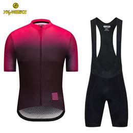 Bibs de ciclismo on-line-YKYWBIKE 2019 Ciclismo Jersey Bib Define Homens de Manga Curta MTB Jersey Esporte Ao Ar Livre Roupas de Ciclismo Roupas de Bicicleta Esponja Acolchoada Design personalizado