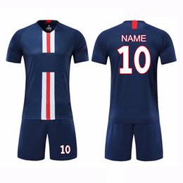 nuevas camisetas de fútbol de llegada Rebajas 2019 Nueva llegada Hot Football Team Jerseys Fútbol Ropa deportiva Kits de fútbol para hombres y niños Running Training Chándal de fútbol
