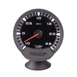 Auto-gauge boost online-Neuer 60mm 2,5 Zoll GReddy Sirius Racing Gauge Auto Turbo Boost Gauge 7 Farbsensor