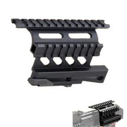 Tactical AK Serie Schienenseitenmontage Quick QD Style 20mm Entfernen Sie die Weberschiene von Fabrikanten