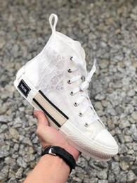 Кружевной режим онлайн-2020 Новые Женская обувь Кроссовки Узелок Дышащие моды платформы высокого кроссовки в Косой Des Chaussures 19ss Mode Femme Flats