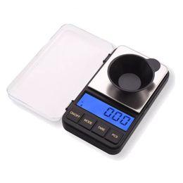 Miniature libere online-200g x 0.01g mini bilancia elettronica digitale scala tascabile in miniatura per gioielli spedizione gratuita