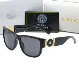 óculos de sol neon Desconto Nova 2020 lente de vidro Moda Polit luxo A4369 Sunglasses alta óculos de sol de qualidade para homens de metal Vintage óculos Designer Esporte VIDROS DE SOL