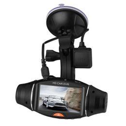 2020 visión de la pista Doble lente registrador de la conducción R310 GPS track registrador de la conducción de Super gran angular de visión nocturna exquisitamente diseñadas dvr del coche duradero rebajas visión de la pista