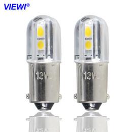 Bulbo conduzido ba9s on-line-4X BA9S conduziu luzes de bulbo Canbus lamps1W Dc 6 V 12 V 24 v 36 v 48 V Placa de Licença Do Carro Auto Turn Signal Lâmpadas de Estacionamento Lâmpada de porta