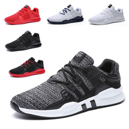european leather men shoes Promo Codes - Men And Womens Sports Shoes Top Quality Breathable Lace Up Flat Sneakers Casual Wedding Shoes European 39-46