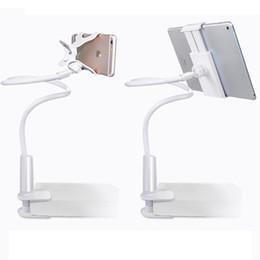 360º Rotasyon Tembel Yatak Masaüstü Dağı Standı Tutucu Tablet iPad Mini Için Tutucu Destek Kindle Android Iphone XS MAX nereden tembel ipad tutucu tedarikçiler