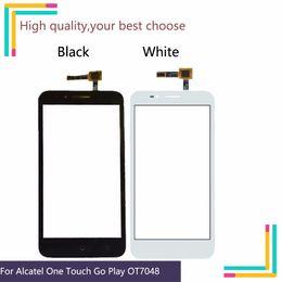Un cavo touch online-Nuovo touch screen da 5.0 '' per Alcatel One Touch Go Play 7048 7048X OT7048 Touch Screen Digitizer Panel Sensor Cable No LCD