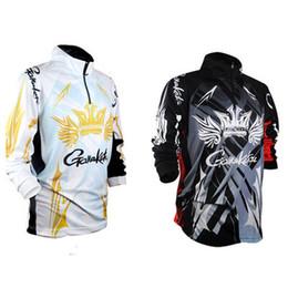 2018 marcas de ropa de pesca chalecos de humedad mecha de secado rápido anti-uv sol camisa de pesca ropa deportiva de manga larga desde fabricantes