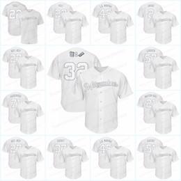 maillots de baseball milwaukee Promotion Fin de semaine des Brasseurs 2019, chandails des Milwaukee Shaw Travis Maire-DDC Jeffress Jeremy Cain Lorenzo Maire de Trois Enfants Josh Hader HADERADE BAT BOY