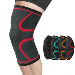 Deutschland 1 stück Nylon Elastische Sport Knieschützer Atmungsaktive Knie Unterstützung Klammer Laufen Fitness Wandern Radfahren Schutz Joelheiras Versorgung
