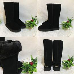 Australie classique bottes de neige femmes mans designer bottillons haute qualité marque mode en cuir unisexe chaussures d'hiver de luxe bottes longues EUR 35-44 ? partir de fabricateur