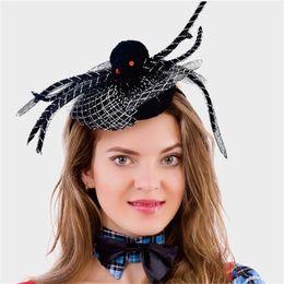 diadema de araña Rebajas Cinta de cabeza araña de Halloween aro del pelo de los niños creativos de maquillaje venda del partido de Decorar Prop Headwear 4 99le UU