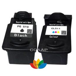Cartouche d'encre rechargeable Canon PG510 noire CL511 couleur pour imprimante PIXMA MP240 MP250 MP260 MP280 MP495 MX410 MX420 ? partir de fabricateur