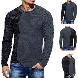 Canada 2018 Nouveau contact col rond de style style hommes couleur Gentiana point hommes pull Offre
