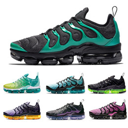 más luz Rebajas NIKE Vapormax plus Vapor Max VM Running shoes Eagles Spirit Teal Active Fuchsia Lemon Lime Light Menta Midnight Navy for Men and Women Runner Trainer