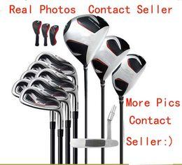 Полный комплект Многие брендовые гольф-клубы Водитель # 3 # 5 Fairway Woods + Golf Irons Быстрая доставка Еще фото Связаться с продавцом от