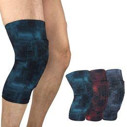 Projetos de esponja on-line-Homens Mulheres Sports Knee Pads Honeycomb Designs Anticollision Eva Sponge Esporte e Lazer Equipamentos de Proteção Fit exterior respirável 13qy E1