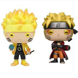 funko pop atacado Desconto Atacado Funko Pop Animação: Naruto - Naruto Seis Caminho / Modo Sábio Figura de Ação de Vinil Com Caixa Presente Boneca de Brinquedo para crianças