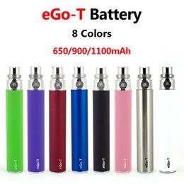 beste batterie für ego t Rabatt EGOT Akku 650mAh 900mAh 1100mAh beste Qualität EGOT Batterie Fit CE3 CE4 MT3 510 Thema Keramik Glas Behälter-Patrone Atomizer