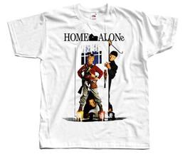 Evde Yalnız V4, afiş, 1990, Noel T-SHIRT DTG (BEYAZ) S-5XL Baskı T-Shirt Erkekler cheap poster printing home nereden poster basımı ev tedarikçiler
