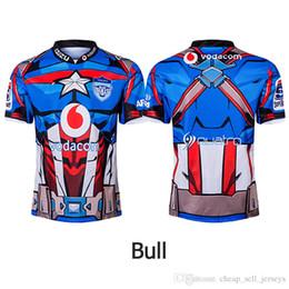 Camisetas de entrenamiento baratas online-ropa de fútbol de alta calidad Bulls Hero Edition de alta calidad 2019 Camisetas de entrenamiento Highlanders 2019-2020 TAMAÑO: S-3XL