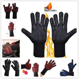 2019 силиконовые перчатки 500 Celsius Термостойкие перчатки, отлично подходящие для духовки. Приготовление пищи. Рукавицы для приготовления пищи в изолированных силиконовых перчатках для барбекю. скидка силиконовые перчатки