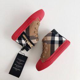 diseño de zapatos de niños de cuero Rebajas Gucci Children's shoes zapatos de los niños del diseño clásico de los niños y niñas de lujo para niños de cuero de los zapatos deportivos populares Mejor marcas genuinas