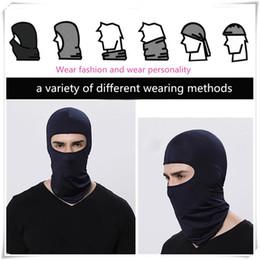máscara facial Desconto 2019 Máscaras de Ciclismo Proteção UV Motocicleta Máscara Facial Ao Ar Livre Balaclava Macio Pescoço Rosto Capa Máscara de Esqui