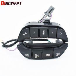 Volante de botão on-line-1 pc Acessórios Do Carro Interruptor de Volante de Rádio De Áudio Controle 84250-PJL para Mitsubishi Pajero botão de áudio