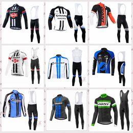 Maillot de manga larga gigante online-GIGANTE camisetas de ciclismo traje de manga larga nueva llegada mtb bicicleta maillot ropa ciclismo hombre ropa de ciclismo para hombre desgaste D0403