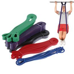 Elastici Fitness fascia di resistenza unisex 208cm di yoga Fasce elastiche Loop Expander per l'esercitazione Sports Equipment da