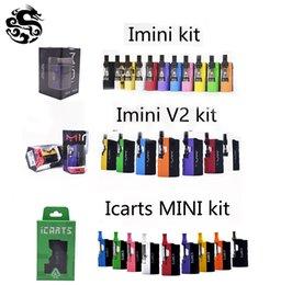 Canada 100% original Kit Icarts Imini V1 V2 avec 0,5 cartouche de 1,0 ml préchauffant la batterie Mod Fit Liberty Vs Vmod Palm Uni Offre