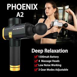 2019 strumenti fenice Macchina di rilassamento di vibrazione del muscolo del massaggiatore di percussione dello strumento di massaggio di Phoenix A2 Stati Uniti sconti strumenti fenice