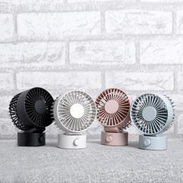 2019 Yeni Mini USB Fan Taşınabilir Güç Çift Bıçak Soğutma Fanı Düşük Gürültü Ofis Masası Fanı Ayarlanabilir rüzgar boyutu perakende paket nereden hayvan telefon tutucuları tedarikçiler