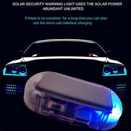 Gefälschte Auto Solar Alarm Led Licht Sicherheitssystem Diebstahl Warnleuchte