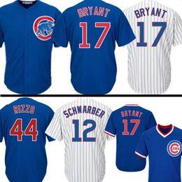 a9cbca9c9 Chicago Jersey Cubs 44 Anthony Rizzo 17 Kris Bryant Baseball Jerseys Mens 12  Kyle Schwarber 9 Javier Baez 23 Ryne Sandberg Cheap sales