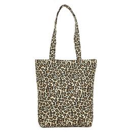 weinlese einkaufstaschen europäisch Rabatt Europäische Sexy Leopardenmuster Frauen Handtasche Neue Lässige Tote Weiche Faltbare Einkaufstasche Vintage Schulter Eimer Taschen