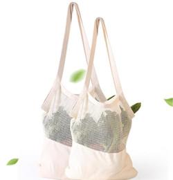 Reusable Baumwollschnur Netz Einkaufsnetz Einkaufstasche Basketball Tasche Neu F