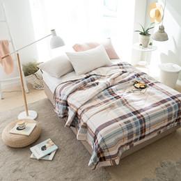 100% Algodão 150 * 200 cm / 200 * 230 cm Comforter de Verão Confortável Capa de Dormir Capa de Dormir Colcha 5 Estilo Consolador de