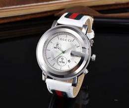 Спортивные наручные часы онлайн-Горячие продажи моды Новый PU Кожаный Ремень Часы Студент Повседневная Мода Пары Часы для Мужчин Женщин Наручные Часы Высочайшее качество спорта