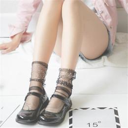 Носочки на женских ножках